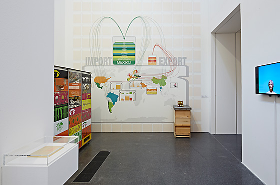 "Ausstellungsansicht ""honey makes the world go round"" Museum Ostwall"